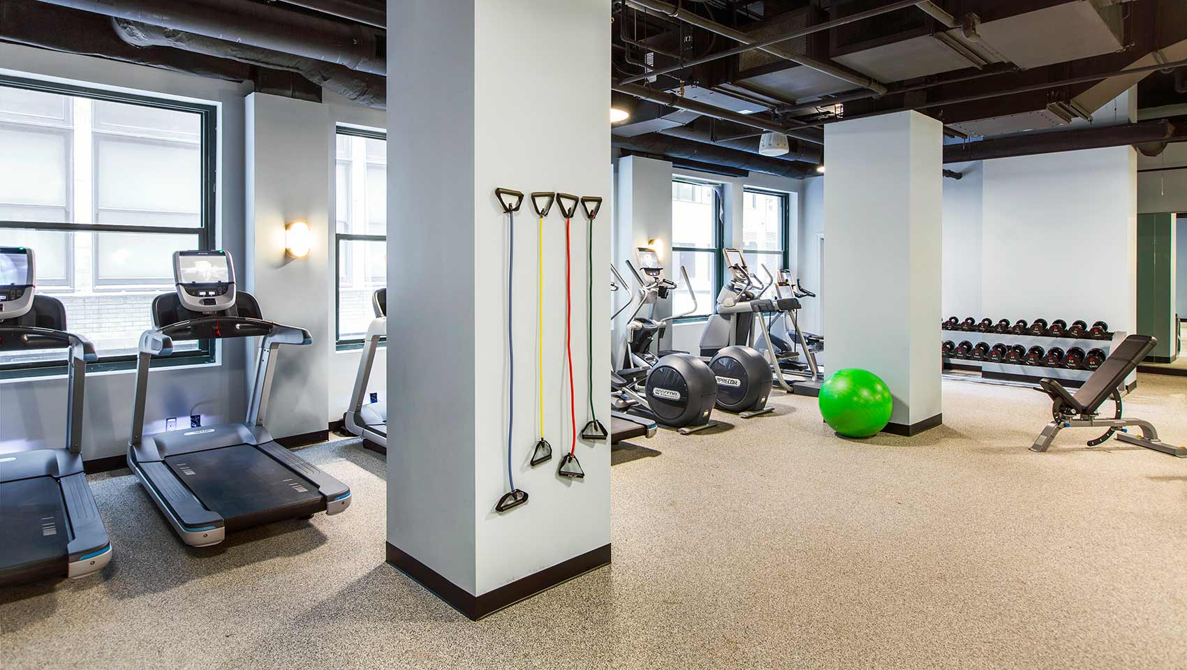 Kimpton Gray Hotel fitness center