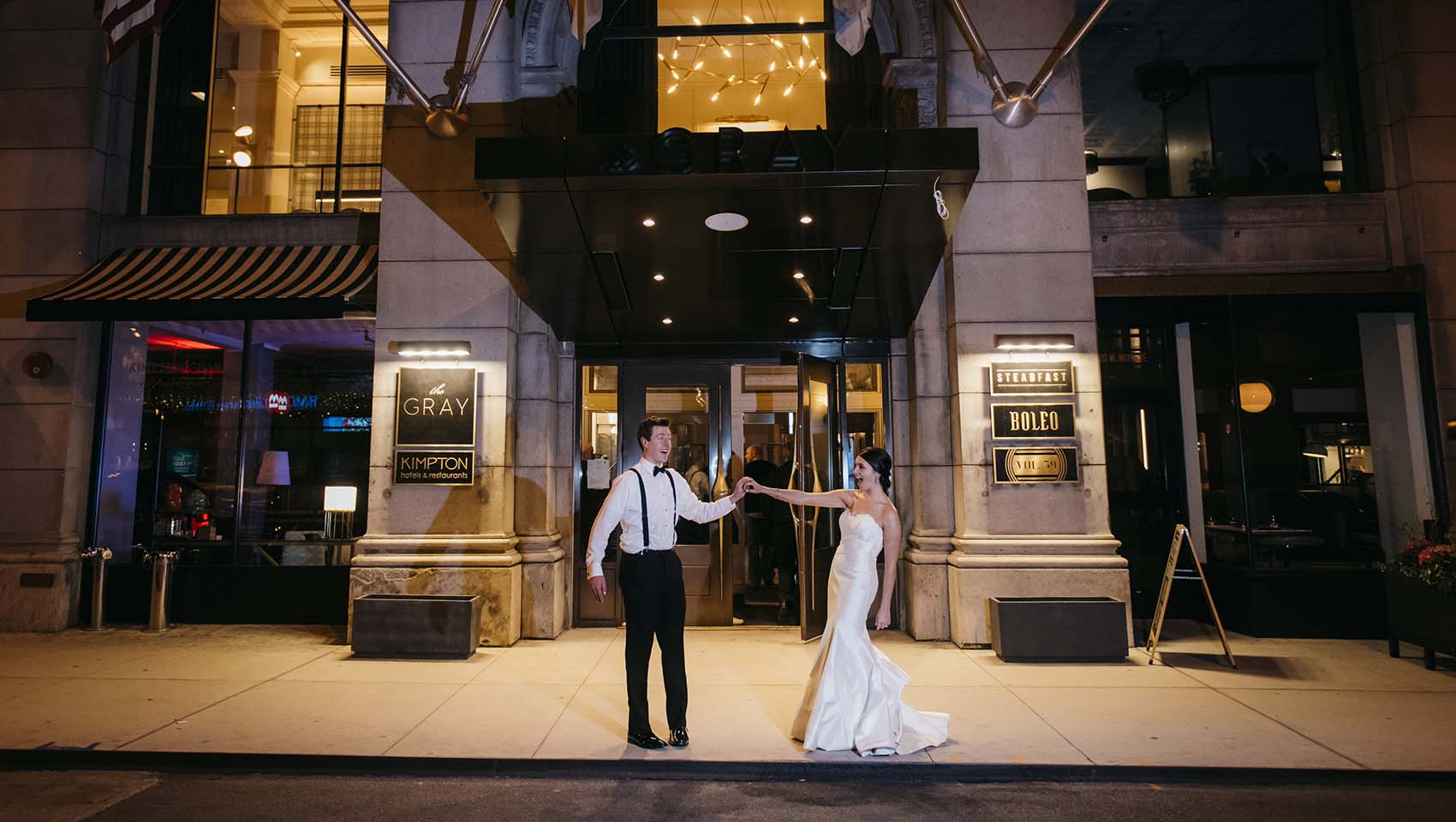 Kimpton Real Weddings: Kimpton Gray Hotel